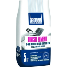 Шпатлевка Bergauf Finish Zement, 5 кг